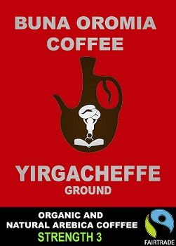 Yirgacheffe Ground (Ethiopian Coffee)
